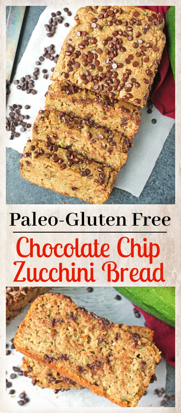Paleo Chocolate Chip Banana Bread