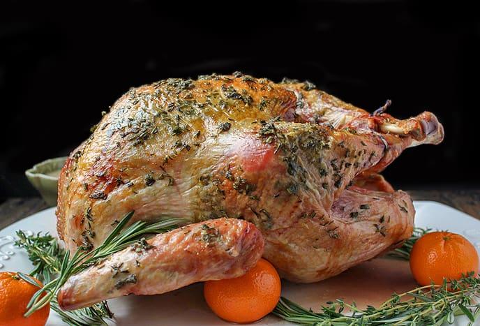 Paleo Whole30 Roasted Turkey
