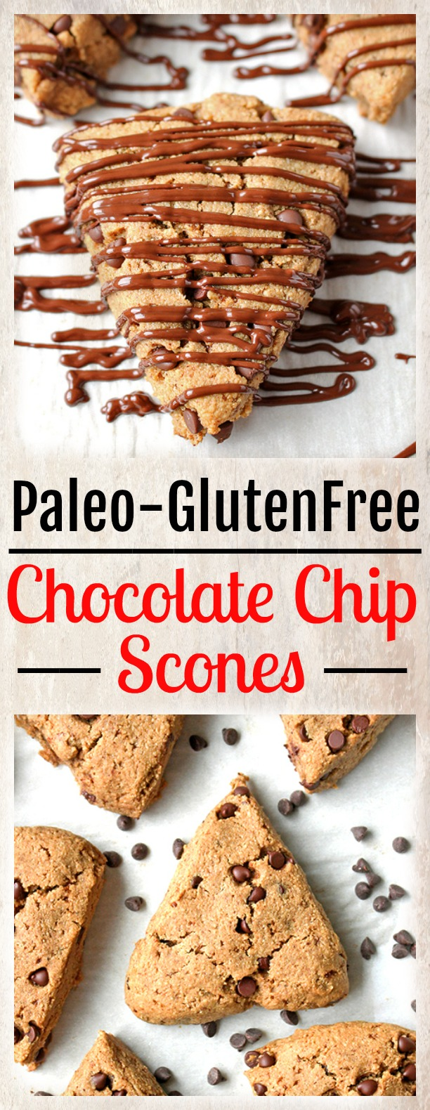Paleo Chocolate Chip Scones - Jay's Baking Me Crazy