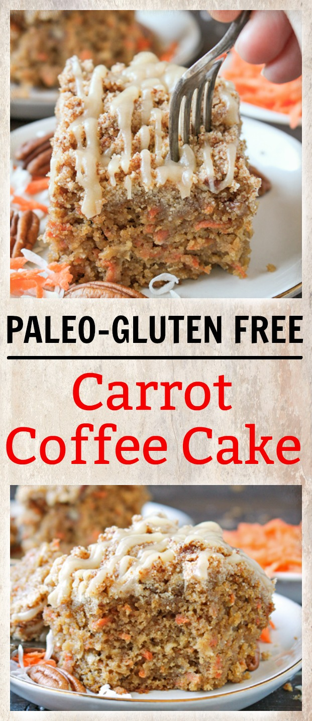 Carrot Cake With Honey Drizzle