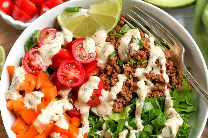 Paleo Whole30 Taco Salad