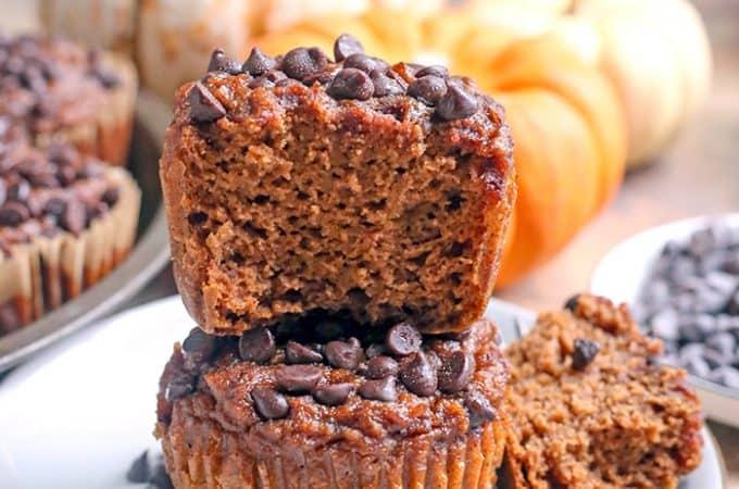 Paleo Nut-Free Pumpkin Muffins