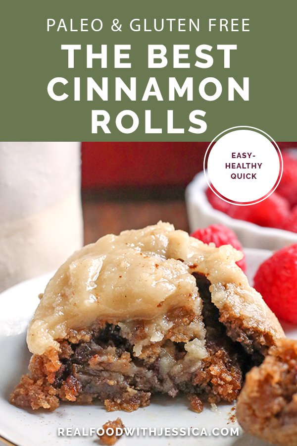 These Best Paleo Cinnamon Rolls are sweet, soft, and so delicious! Quick to make and they make the perfect morning treat. Gluten free, dairy free, and naturally sweetened.