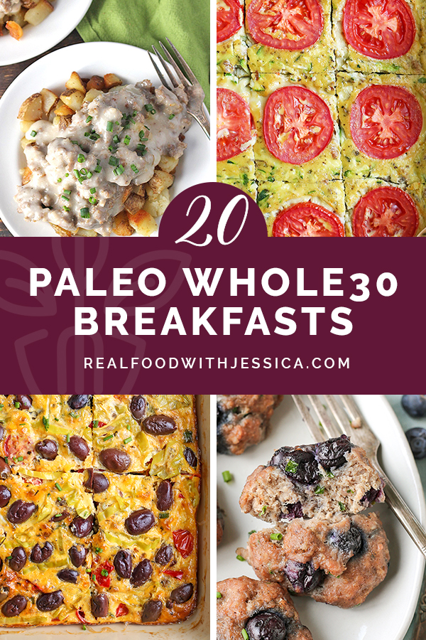 This roundup of 20 Paleo Whole30 Breakfast Recipes will keep breakfast interesting all month! All gluten free, dairy free with some low FODMAP options.