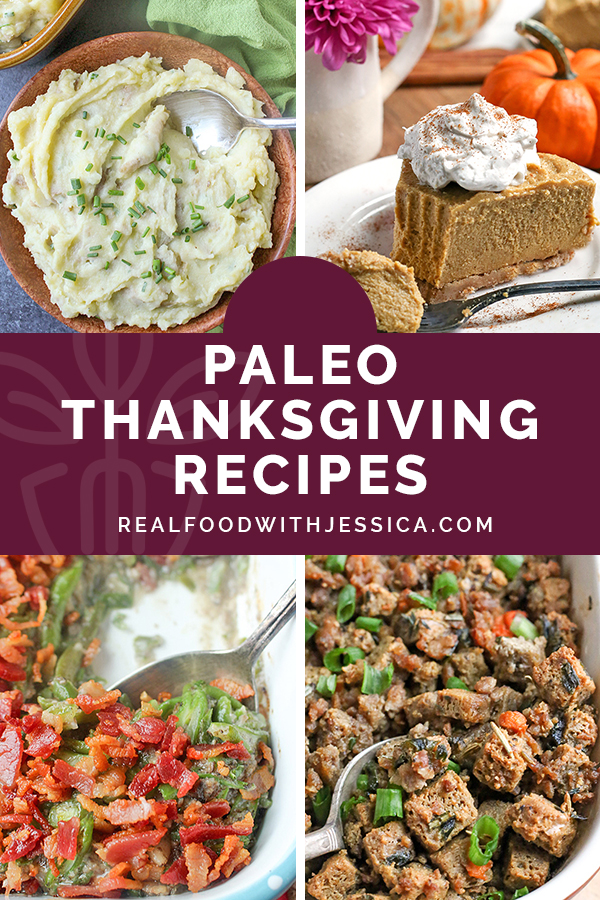 A collection of all the Paleo Thanksgiving Recipes that you will need. Many are Whole30, not including the desserts. All are gluten free, dairy free, and the desserts are naturally sweetened.