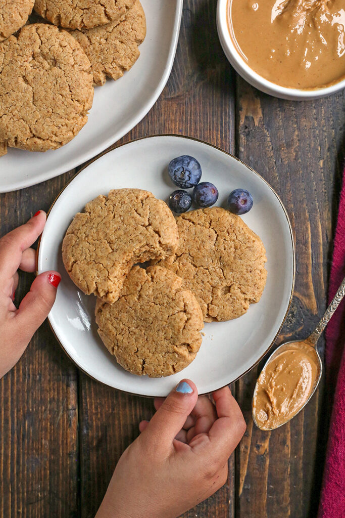 Paleo Peanut Butter Cookies Real Food With Jessica